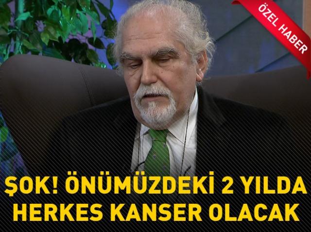 Ünlü onkolog Prof. Dr. Erkan Topuz'dan şok uyarı.