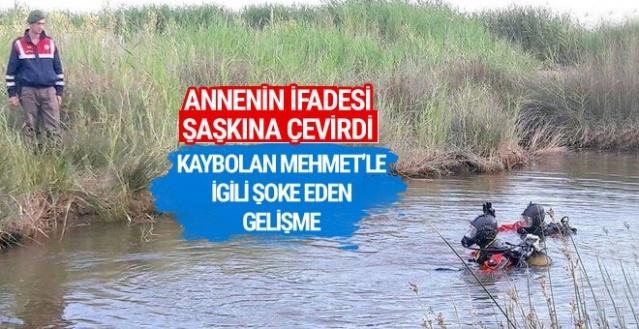 İzmir'de kaybolan Mehmet'le ilgili şoke eden gerçekler