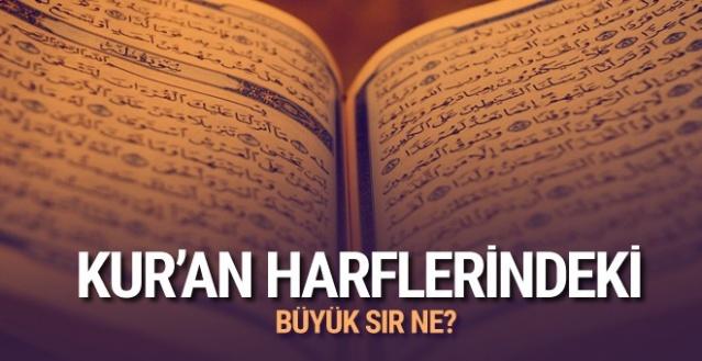 Kur'an-ı Kerim harflerinde büyük sır her şeyi anlatıyor İNANIN MUCİZELER SİZİ BULSUN