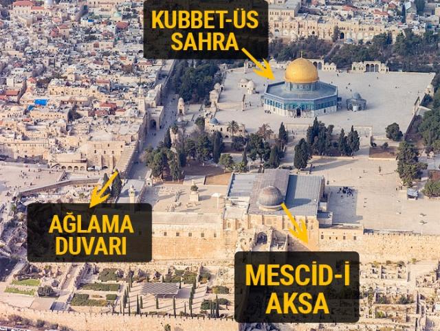 Kudüs'ün önemi nedir? İsa'nın mezarı, Miraç ve Ağlama duvarı