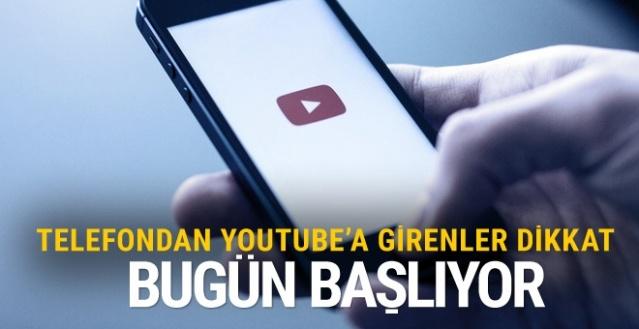 Telefondan Youtube'a girenlere çok önemli uyarı Türkiye'de de...