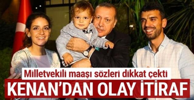 Milletvekili maaşı sözleri dikkat çekti... Kenan Sofuoğlu'ndan olay itiraf!