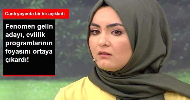 Gelin adayı Hanife'den bomba ifşalar! İşte evlilik programlarının kirli yüzü...