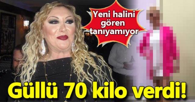 9 ayda 70 kilo veren Güllü'nün son hali herkesi şoke etti! (Adnan Oktar ayrıntısına dikkat)