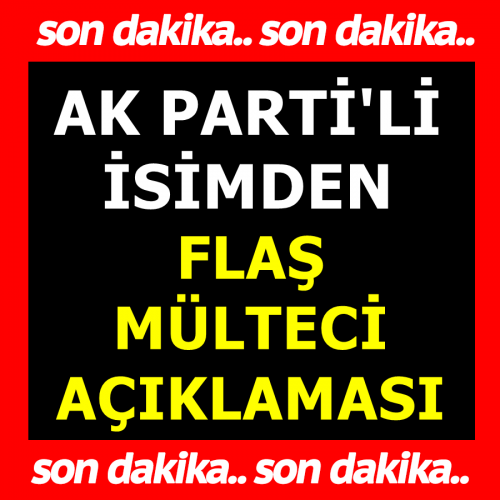 """AK Partili Mehmet Ceylan'dan """"Suriyelilere 40 Milyar Dolar Harcadık"""" Açıklaması"""