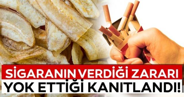 Bu besinler sigarayı bıraktırıyor! İşte sigaranın zararlarını yok eden süper besinler...