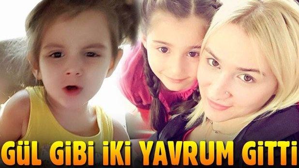 Antalya'da babaları tarafından öldürülen çocukların cenazelerini anneleri aldı
