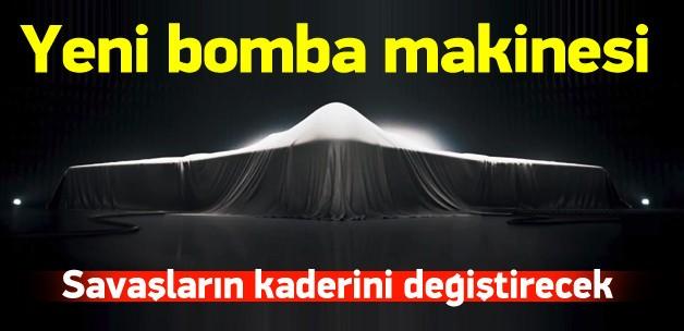 ABD'nin 55 milyar dolarlık yeni bomba makinesi!