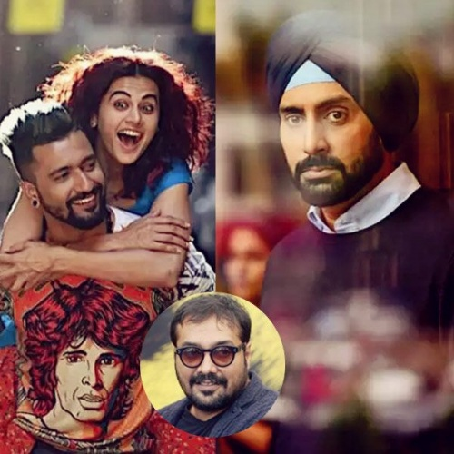 Happy birthday Anurag Kashyap! Here's a letter of love from Manmarziyan actors Abhishek Bachchan, Taapsee Pannu and Vicky Kaushal to you