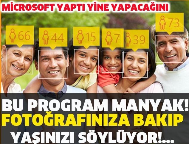 FOTOĞRAFINI GÖNDER YAŞINI SÖYLESİN!