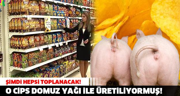 SKANDAL! Türkiye'de Her Yıl Satış Rekorları Kıran Milyonlarca Satılan Ünlü Cips Domuz Yağı İle Yapılıyormuş!
