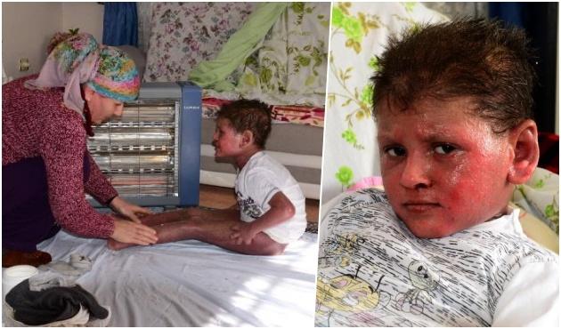 9 Yaşındaki Halil'in Yürek Dağlayan Feryadı: 'Ölmek İstiyorum Anne'