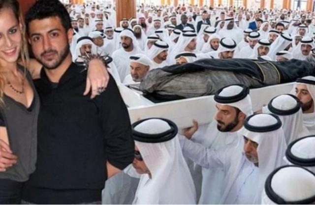 BAE şeyhinin oğlunun cenazesinde ilginç detay!