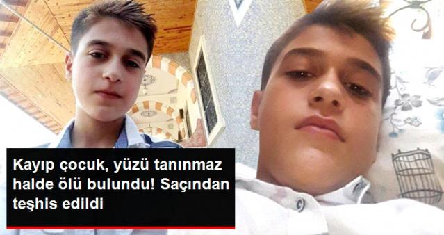 5 Gündür Kayıp Olan Rıdvan'dan Acı Haber! Cesedi Tanınmaz Halde Bulundu