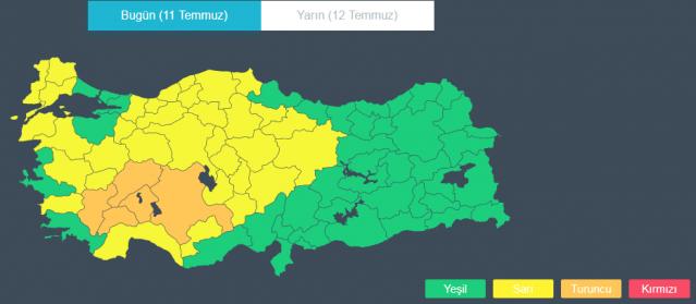 Meteoroloji'den son dakika hava durumu uyarısı (İstanbul'da yağış ne zamana kadar sürecek?)
