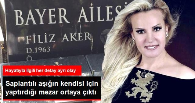 Vatan Şaşmaz'ı Öldüren Filiz Aker'in Yaptırdığı Mezarlık Ortaya Çıktı