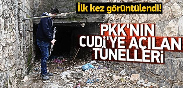 PKK'LI TERÖRİSTLERİN GİZLİ TÜNELLERİ ORTAYA ÇIKARILDI !