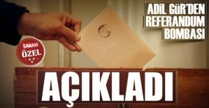 Adil Gür'den REFERANDUM Bombası! 1 Kasım Seçimlerini Doğru Bilen Anketçi Açıkladı! Sonuç...