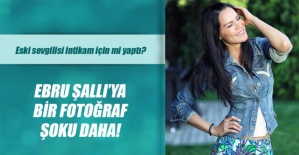 EBRU ŞALLI'YA BİR FOTOĞRAF ŞOKU DAHA!