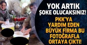 YOK ARTIK ŞOKE OLACAKSINIZ! PKK'YA GIDA VE SİLAH YARDIMINDA BULUNAN FİRMA BÖYLE ORTAYA ÇIKARTILDI!