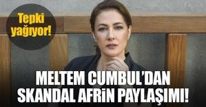 Meltem Cumbul'dan skandal paylaşım!