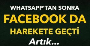 WhatsApp'tan sonra Facebook da harekete geçti! Artık..