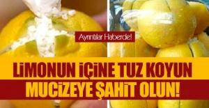 Limonu kesip içine tuzu doldurunca ortaya çıkan mucize! Ne işe yaradığını öğrenince hemen mutfağa koşacaksınız!