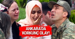 Ankara'da korkunç olay! Feci şekilde can verdi