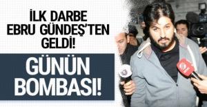 Reza Zarrab'a ilk tokat eşi Ebru Gündeş'ten geldi!