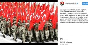 Şahan Gökbakar'dan Afrin paylaşımı: Ana kuzuları...