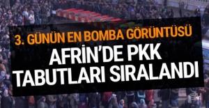 PYD/PKK cesetleri sıralandı! Afrin'den gelen bomba görüntü