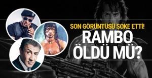 Rambo öldü mü Sylvester Stallone son görüntüsü şoke etti