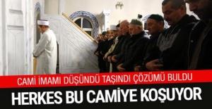 Trabzon'da cami imamı çözümü buldu cemaati ikiye katladı...