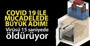 Türk bilim insanları koronavirüsü 15 saniyede öldüren cihaz tasarladı.
