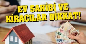 Tüm Ev Sahibi ve Kiracıları İlgilendiren Haber