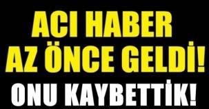 ACI HABER AZ ÖNCE GELDİ!