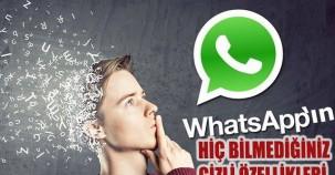 Watsapp'ı kullanıyorsunuz ama bu gizli özelliklerini bilmiyorsunuz!