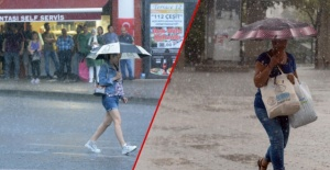 Meteoroloji'den İstanbul ve birçok il için sağanak yağış ve hava durumu uyarısı
