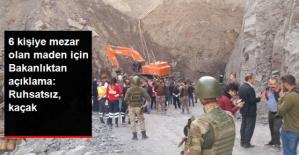 Şırnak'taki Maden Ocağı Faciasıyla İlgili Enerji Bakanlığından Açıklama: Ruhsatsız ve Kaçak