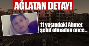 Şanlıurfa'daki Saldırıda AĞLATAN DETAY! 11 Yaşındaki Ahmet Şehit Olmadan Önce...