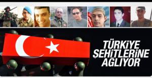 Türkiye Şehitlerine  Ağlıyor...38 Ana kuzusu ..