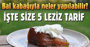 Bal kabağıyla lezzet bulan 5 sağlıklı tarif