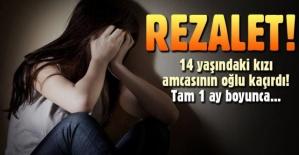 14 yaşındaki kuzenini kaçırıp, 1 ay boyunca cinsel istismarda bulundu!