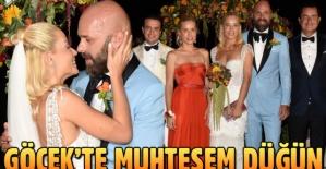 Acun Ilıcalı'nın kankası Esat Yontunç'ta evlendi gelinliğe bakın