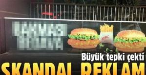 KFC'den tepki çeken Türkçe reklam!