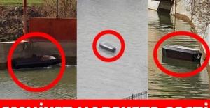 Çoruh Nehri'nde yüzen tabutlar şaşkına çevirdi