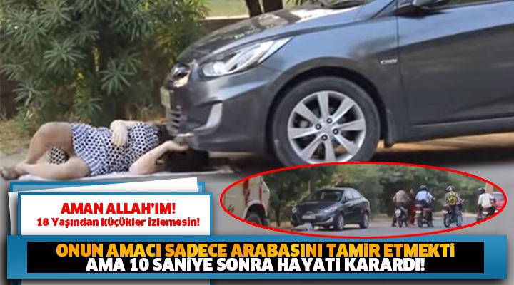 Onun niyeti sadece arabasını tamir etmekti... HAYATININ ŞOKUNU YAŞADI!