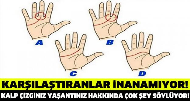ELDEKİ KALP ÇİZGİLERİ BAKIN NE ANLAMA GELİYOR!
