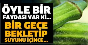 BİR GECE BEKLETİP SUYUNU İÇİNCE... ÖYLE BİR FAYDASI VAR Kİ...