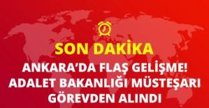 Bakan Abdülhamit Gül, Adalet Bakanlığı Müsteşarı Kenan İpek'i Görevden Aldı